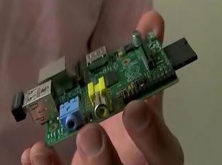 Our prototype sensor uses a Raspberry PI board.